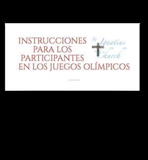 Instrucciones para los participantes en los Juegos Olímpicos